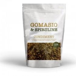 Gomasio aux graines et à la spiruline sachet de 180g