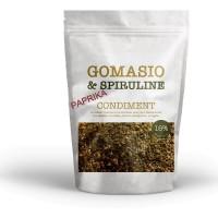 Gomasio aux graines à la spiruline et au paprika sachet de 100g