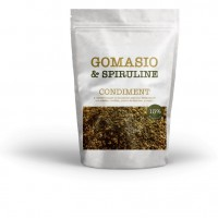 Gomasio with sesame and spirulina bag 50g