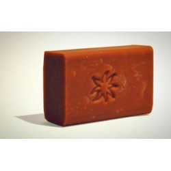 Soap with red clay Illite mature and tired skin