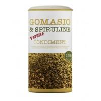 Gomasio spiruline et paprika doux boite de 100g