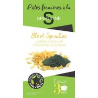 Farmhouse pasta with spirulina