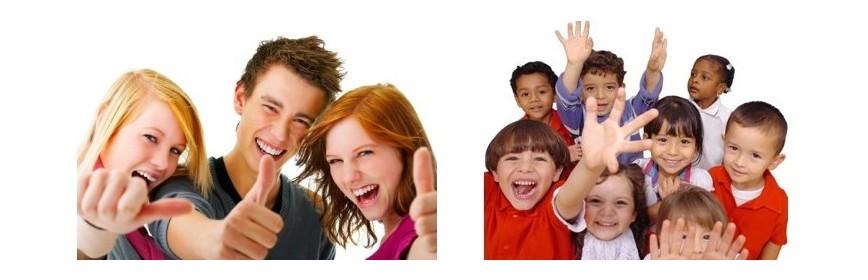 Children and teens spirulina