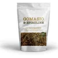 Gomasio aux graines et à la spiruline sachet de 100g