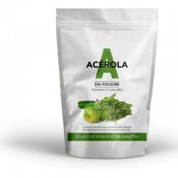 Acérola vert bio en poudre sachet de 100g