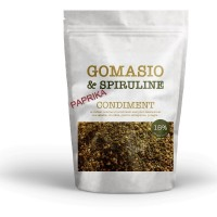 Gomasio seeds and spirulina 100g bag