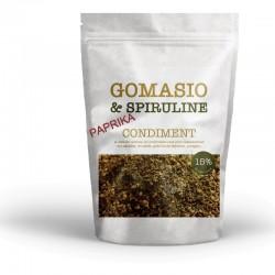 Gomasio aux graines, à la spiruline et au paprika sachet de 180g