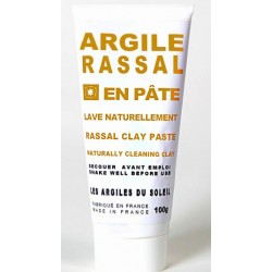 Rassal clay paste, The clay that washed
