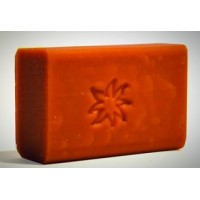 Pink clay soap for dry skin