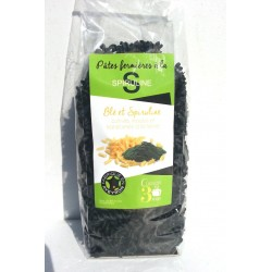 Farmhouse pasta with spirulina