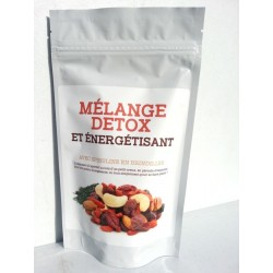 Detox and energizing mix with spirulina in twigs
