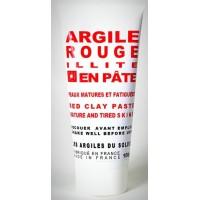 Argile rouge Illite en pâte pour peaux matures et fatiguées