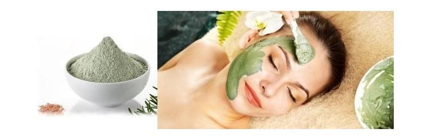 Masque à base de spiruline et d'argile