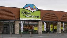 Les halles de l'Aveyron Rodez revendeur Spiruline Algahé