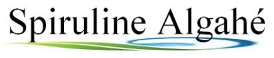 logo spiruline algahé